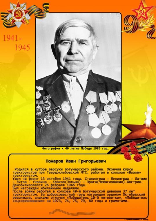 Пожаров Иван Григорьевич