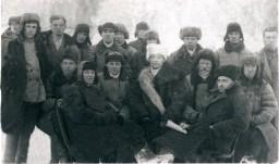 Приезд районного уполномоченного начало 1930 - х годов